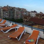 屋上からの眺め。これがバルセロナ一望と言えるでしょうか??