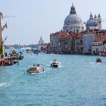 desde el puente Accademia