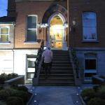 Arriving at Roxford Lodge after a night in Dublin
