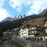 View of Col Rodella from Campitello