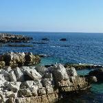 Cap d'Antibes, la Méditerannée du sentier littoral