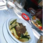 Traditional mountain food. they also have all the usual staff Restaurant Le Refuge Orezza