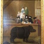 Pietro Longhi Mostra del Rinoceronte 1751