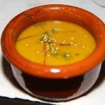 Delicous pumpkin soup