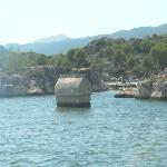 Lycian tomb in water