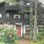 Entrance to Grunberg Haus
