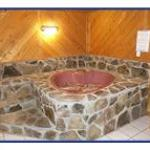 King Windmill heart shaped jacuzzi room