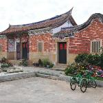 傳統的閩南古厝豪宅,雙落雙護龍