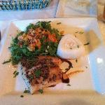 Generous serving of fresh fish