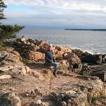 View at the coastal edge