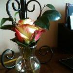 beautiful rose in each bedroom