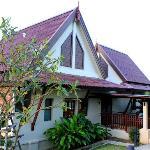 The entrance to Yellow Villa