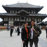 Take a pic with the Famous Todaiji Temple