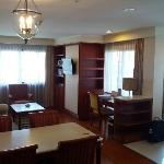 Suite - Living Area & Desk