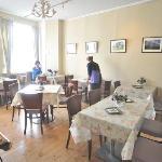 Charming English tea room inside this Lewes Florist