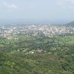 View of Satara City from the resort