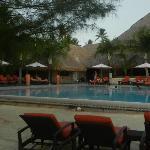 La maravillosa piscina del hotel