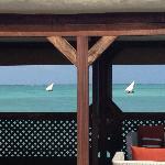overwater restaurant