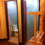 Shower rooms and toilets in Orm Ngern suite