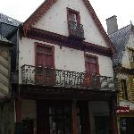 Exterior of Auberge St Luois, Vitre