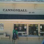 Cannonball snack shop