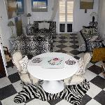 the zebra room