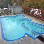 Ainsworth Hot Springs pool area