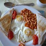 Vegetarisches Frühstück