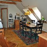 La salle à manger/cuisine