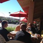 patio seating in downtown Scottsdale