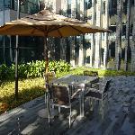Sitzgelegenheit im Garten/Terrasse