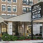 Chicago South Loop Hotel, main entrance