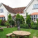 Raddicombe Lodge and garden
