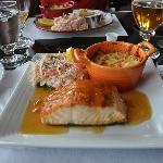 Filet de saumon au sirop d'érable