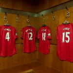 Manchester United Dressing Room