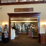 The Pie Shop - good for something to take home. The Pie Shop, Bakery and Candy Shop are togethe