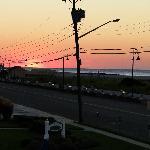 Sunrise View in Oct.