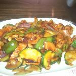 Kung Pao Shrimp (dinner portion)