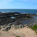 View of coast line at Hook Head
