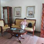 Гостинная комната.