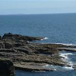 View atop Hook Head LIghthouse.
