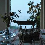 colazione nella serra