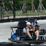 Race your friends on our two go-kart tracks!