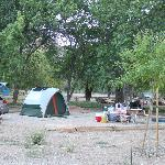 Watchman Campground site C-14