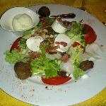 Salade chèvre frais