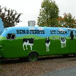 The Ben & Jerry's bus