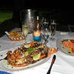 excelente la cena romantica