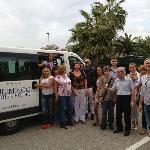 Leaving Hotel Olimpico
