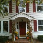 Entrance with Fall decoration Oct 2012