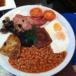 The full Scottish breakfast